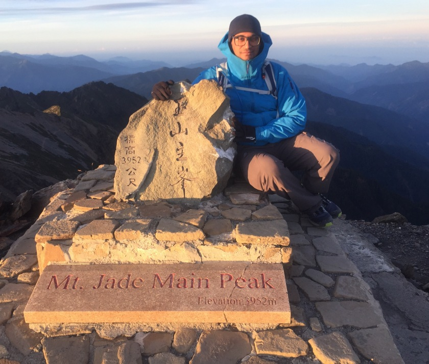 Proof that I made it to the top of Yushan
